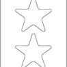 two stars coloring free printable for kids crayola world rain sticks art project diy coloring pages Stars Coloring Page