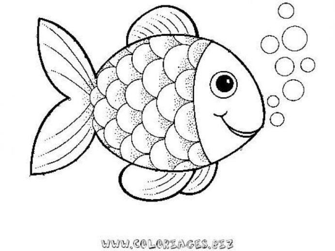 under the sea animal rainbow fish coloring template sheets grass color deep eggplant coloring pages Coloring Page Fish
