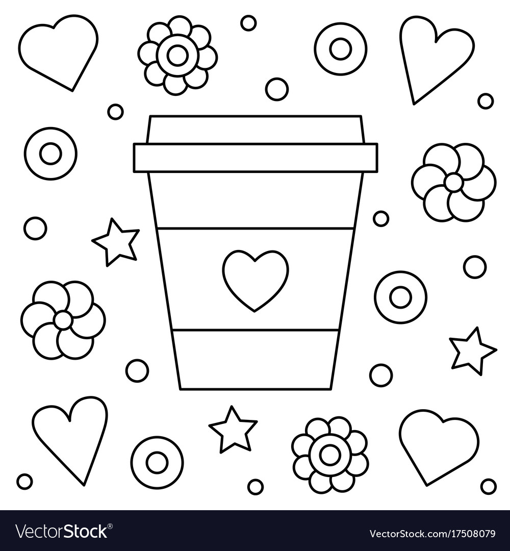 up coloring royalty free vector image rocket drawing is chalk toxic toys trending frozen coloring pages Coffee Coloring Page