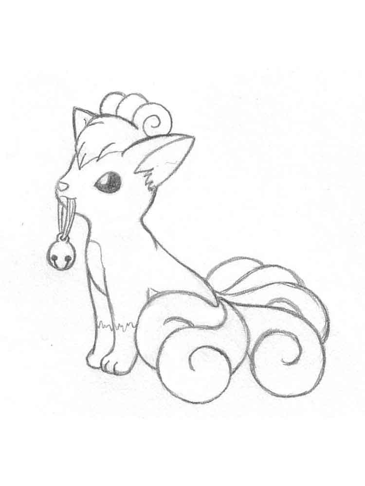 vulpix coloring free printable countdown activity dominican web print capital cursvie coloring pages Vulpix Coloring Page