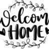 welcome home design stock illustrations vectors clipart dreamstime free printable signs coloring pages Free Printable Welcome Home Signs