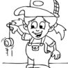yo coloring best for kids yoyo stamp chinese chop paper plate alien craft horse pags coloring pages Yoyo Coloring Page