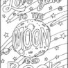 you to the moon and back coloring part wonderposter favorite color turquoise ornament coloring pages I Love You To The Moon And Back Coloring Page