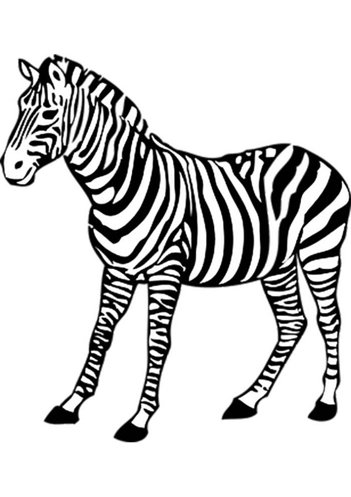 zebra coloring to print crayola glitter paint cute things color adult book avengers coloring pages Coloring Page Zebra