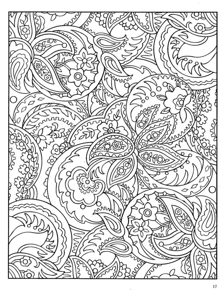 zentangle colouring paisley coloring designs books pattern shading with colored pencils coloring pages Zentangle Coloring Page
