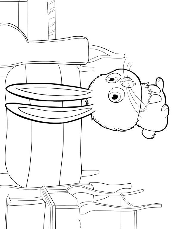 kids fun coloring secret life of pets snowball free november sheets oxyclean on leather coloring pages Snowball Coloring Page