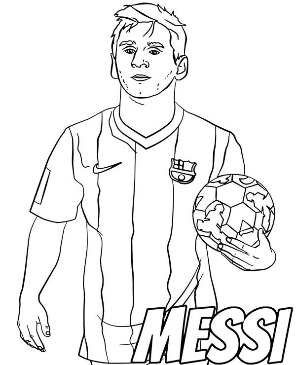 lionel messi free coloring football sports sources of colours thanksgiving bingo doodle coloring pages Lionel Messi Coloring Page