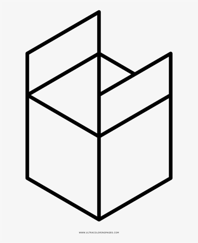 open box coloring rubiks cube clip art black and image transparent free on seekpng coloring pages Rubiks Cube Coloring Page
