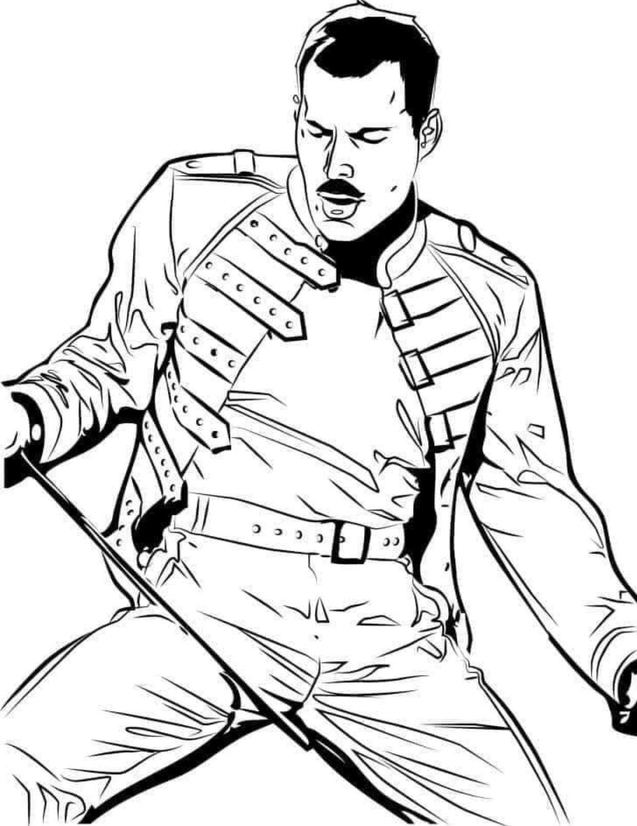 pin by decalities on cricut in cute coloring colouring freddie mercury butterfly sheets coloring pages Freddie Mercury Coloring Page