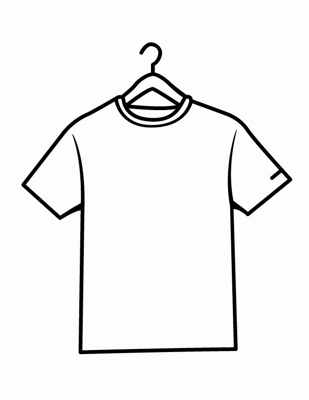 shirt coloring beautiful clipart best in colorful shirts lion home nibgr97qt coloring pages T-shirt Coloring Page
